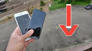 Samsung Galaxy S8 vs iPhone 7 - 50 Foot Drop Test! (4K)