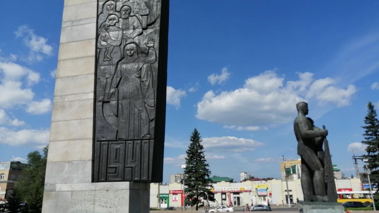 Мемориал Славы в честь победы в Великой Отечественной войне в Барнауле