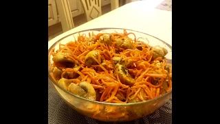 Грибы и морковь по корейски! Самая вкусная закуска!