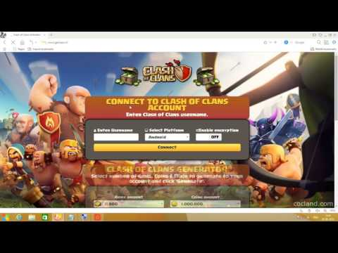 Clash Of Clans Free Gems Without Survey!!!