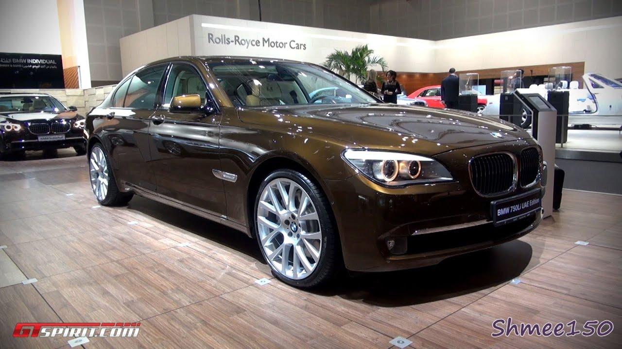 BMW Li UAE Edition World Debut Dubai Motorshow With - 2011 bmw 750