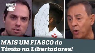 """""""O Corinthians SEMPRE dá um jeito de PERDER!"""" Timão é DETONADO após novo FIASCO pro Guaraní-PAR!"""