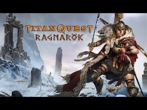 Titan Quest: Ragnarok - Replay - Orient to hades - Harbinger Build