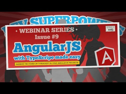 AngularJS with TypeScript made easy | Dev SuperPowers 9 | Duncan Hunter