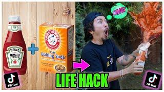 We TESTED Viral TikTok Life Hacks.... (GONE WRONG) *PART 20*