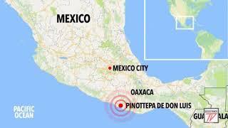 ÚLTIMO MINUTO: TERREMOTO DE 7.5 EN MÉXICO