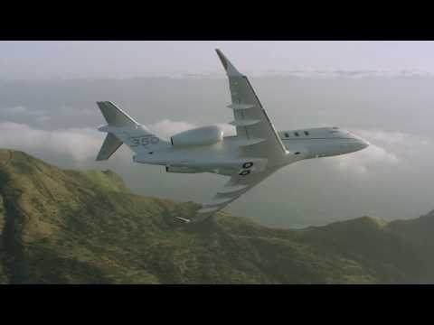 L'avion d'affaires Challenger 350