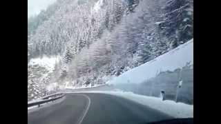 Горный перевал в Швейцарии.
