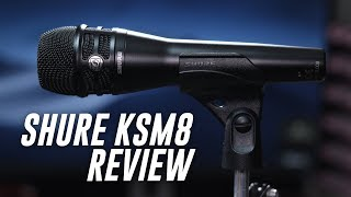 Shure KSM8 Dualdyne Vocal Mic Review / Test