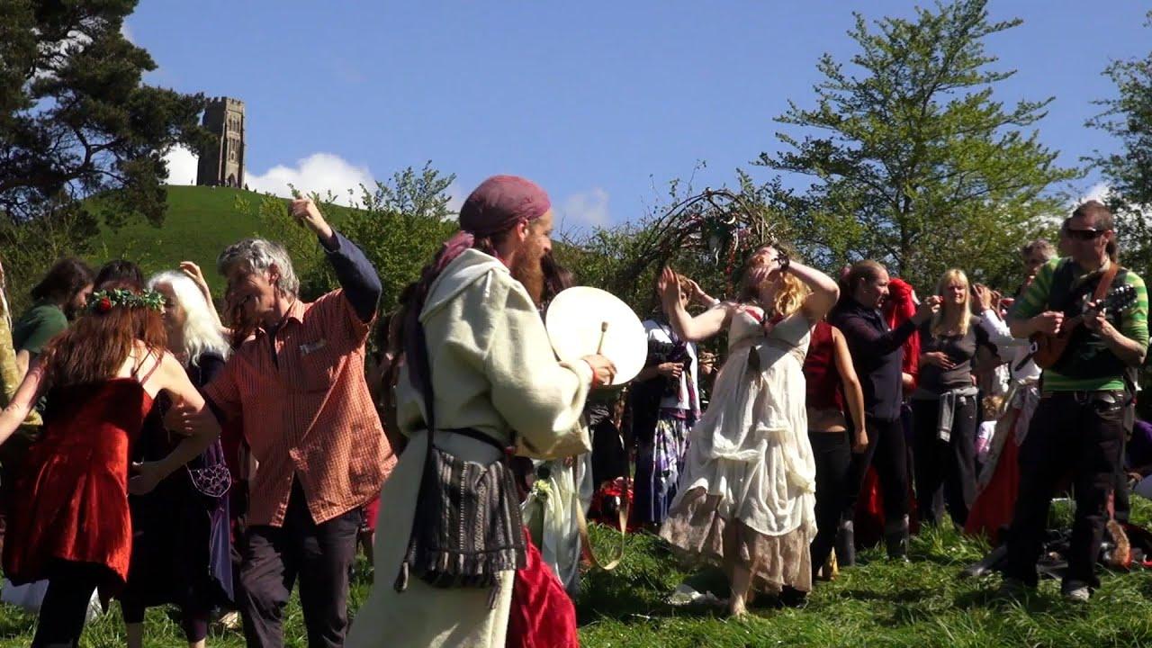 Beltane in Glastonbury (May Day)