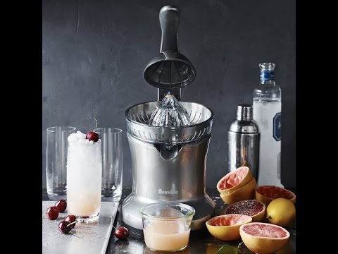 The Ultimate Orange Juicer - Breville Stainless Steel Citrus Press - Review/ Demo