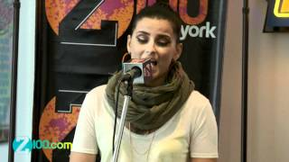 Nelly Furtado - Big Hoops @ Z100 on May 31,2012