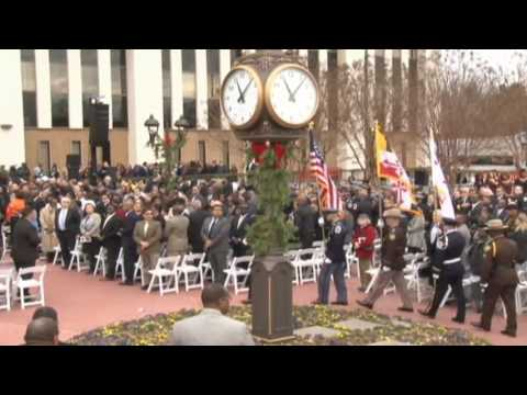 2014 Prince George's County Inaugural Ceremony