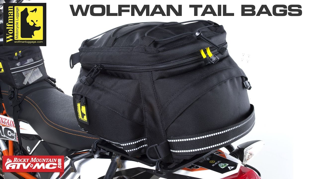 Wolfman Motorcycle Tail Bags You