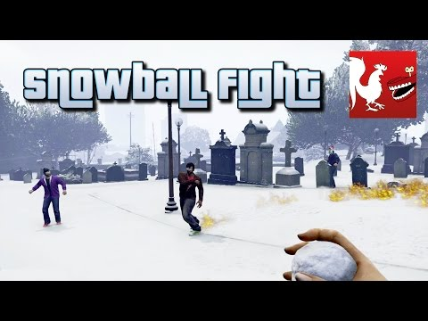 Things to Do In GTA V - Snowball Fight | Rooster Teeth