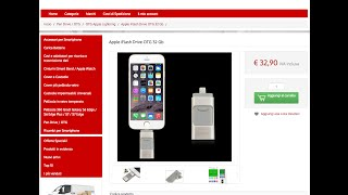 Apple iFlash Drive OTG 32 Gb per iPhone/iPad/iPod recensione ita