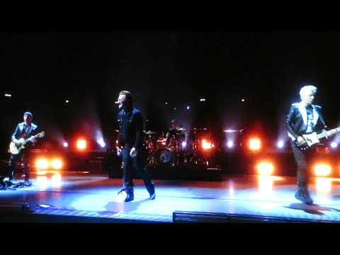 U2 01SEP2018 Berlin, Bono losing his Voice Red Flag Day