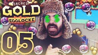 GETTING ALL THE FREE STUFF | Pokemon Sacred Gold Egglocke w/ TheHeatedMo - 05