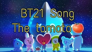 BT21 the tomato song with lyrics
