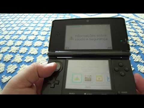Conheça o portátil Nintendo 3DS (Pt - Br)