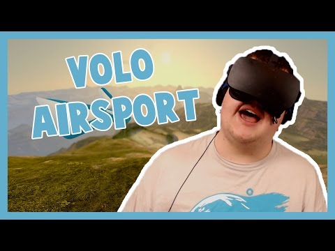 VR SKYDIVING – Volo Airsport with the Oculus Rift!