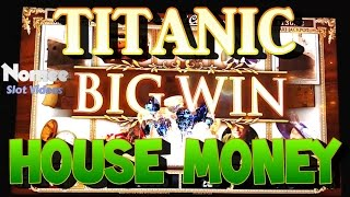 Titanic Slot Machine - Very Fun Hot Streak! Part 1 - House Money!(I rank this game in my top 5 favorite slot machines. The graphics are amazing and the sound is superb, even though the Celine music is straight off the CD., 2015-11-12T21:26:36.000Z)
