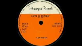 Ann Breen - Love Is Teasin