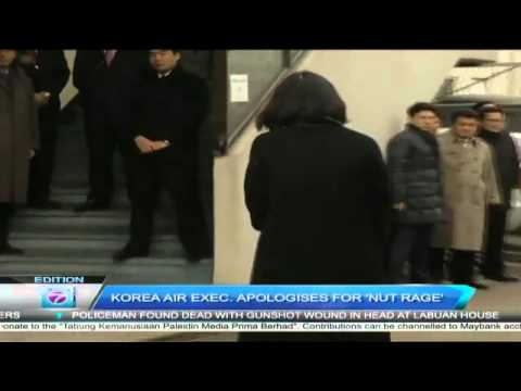 Former Korean Air Lines Executive, Cho Hyun-ah Apologies For Nut Rage