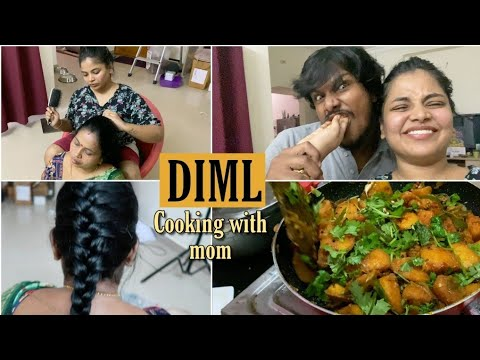 diml-with-ram-&-mom---mom's-special-seeralam-recipe,-skincare,-hairstyle,-fun-vlog-#gottacmyglow