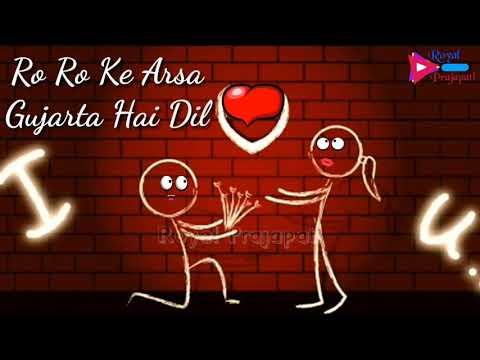 Haye mera dil whatsapp status video  honey singh   ro ro ke arsha gujarta hai dil