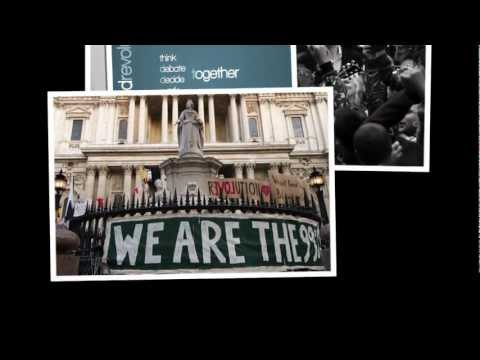 """10-15-11 World Protest for the 99% - Song: """"Who Owns America"""" by Andrew Jon Thomson"""