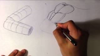 How to Draw an Arm with Pen - Easy Things to Draw