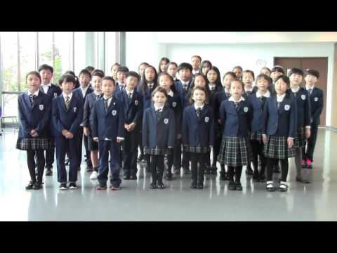 """CISK Song """"Together We Can Grow"""" performed by CISK Cute Choir"""