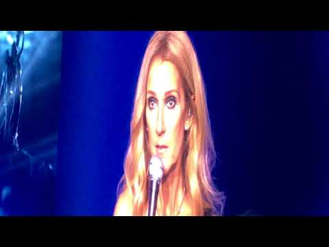 Celine Dion - Final Songs And Speech Of 2018 Tour - Auckland 14/08/2018