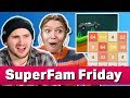 Challenging EVERYONE in Minigames | SuperFam Friday