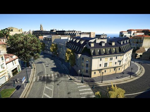 GTA V French Riviera With Natural Vision Graphics Mod 2018