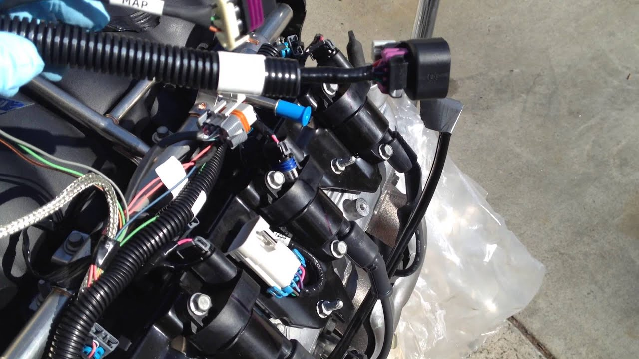 Ls3 Wiring Harness Modification Wire Data Schema Briggs Stratton 5 Hp Engine Model 130212325001 Chevy To Boxster Update 1 18 15 Modifications Rh Youtube Com Ls Diagram