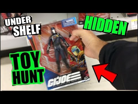 SHOPPING SPREE! Hidden Under The Shelf Toy Hunting At Target! Walgreens, 5 Below!