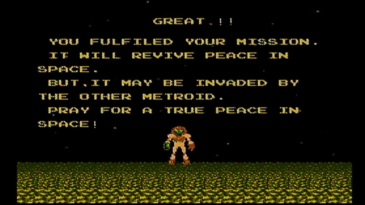 Image result for metroid ending