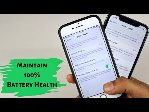 Maintain 100% Battery Health On IPhone