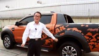 2016 ford ranger wildcat wildtrak 4 wd pickup truck 3 2 l