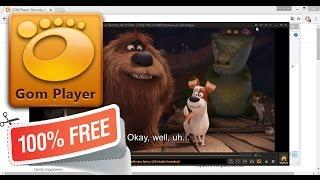 Самый лучший видеоплеер для Windows - GOM Player - free media player(Самый лучший бесплатный видео проигрыватель для Windows - GOM Player - free media player Скачать: http://player.gomlab.com/download.gom GOM..., 2017-01-30T21:38:56.000Z)