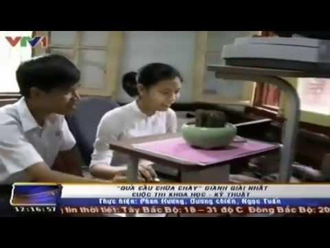 """Phát minh """"Quả cầu chữa cháy"""" của học sinh THPT ở Huế"""