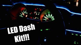 LED Dash Conversion Kit! (05-14 Mustang)