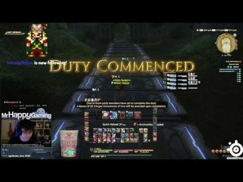 FFXIV: Baelsar's Wall Dungeon (First Runthrough) - YouTube