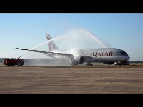 Qatar Airways' Inaugural Flight To Rabat, Morocco