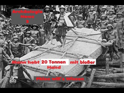 Mann ist in der Lage 20 Tonnenblock per Hand zu bewegen + Bonus Archäologie News 3
