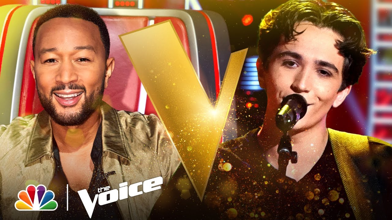 'The Voice': Ariana Grande uses her thank u, next button on John ...
