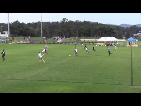 Game 7   U14 Victoria Metro v Capital Football 2nd Half JBos1