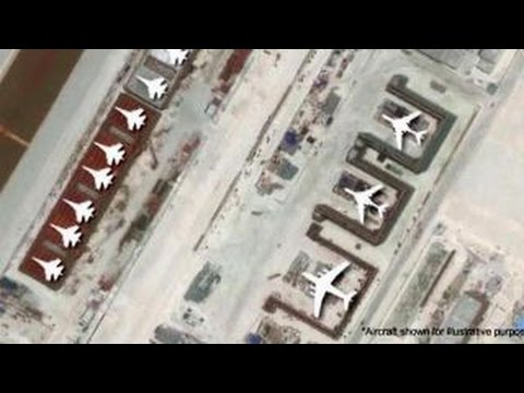 Satellite images show military buildup in South China Sea